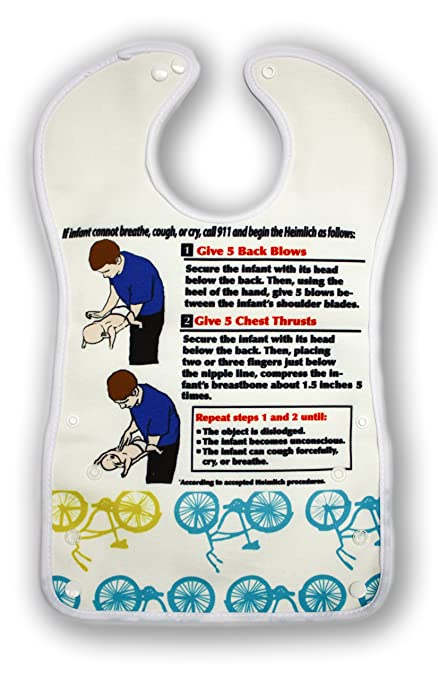 Amazon Breathe Easy Baby Bib For Infants With Heimlich