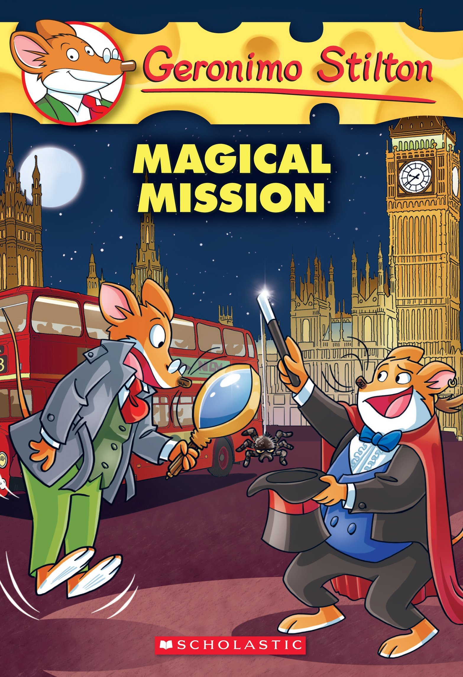 buy geronimo stilton 64 the magical mission book online at low