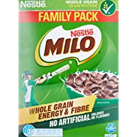 NESTLÉ MILO Cereal, Whole Grain, Energy & Fibre, 700g