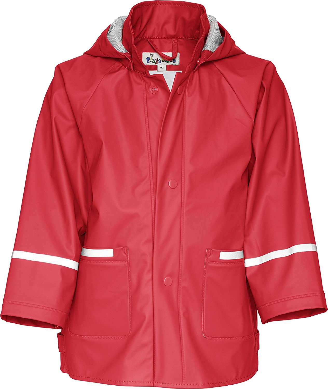 Playshoes Childrens Waterproof Reflective Rain Jacket É 408638