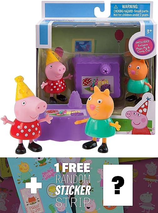 Amazon.com: Peppa & Candy Cat Fiesta de cumpleaños: Peppa ...
