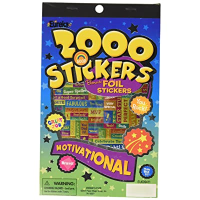 Eureka Motivational Sticker Book: Toys & Games