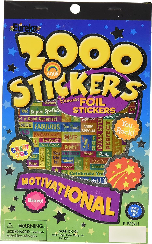Eureka Motivational Sticker Book by Eureka: Amazon.es: Juguetes y juegos