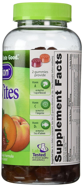 250 Gummies VitaFusion MultiVites Gummy Vitamins for Adults