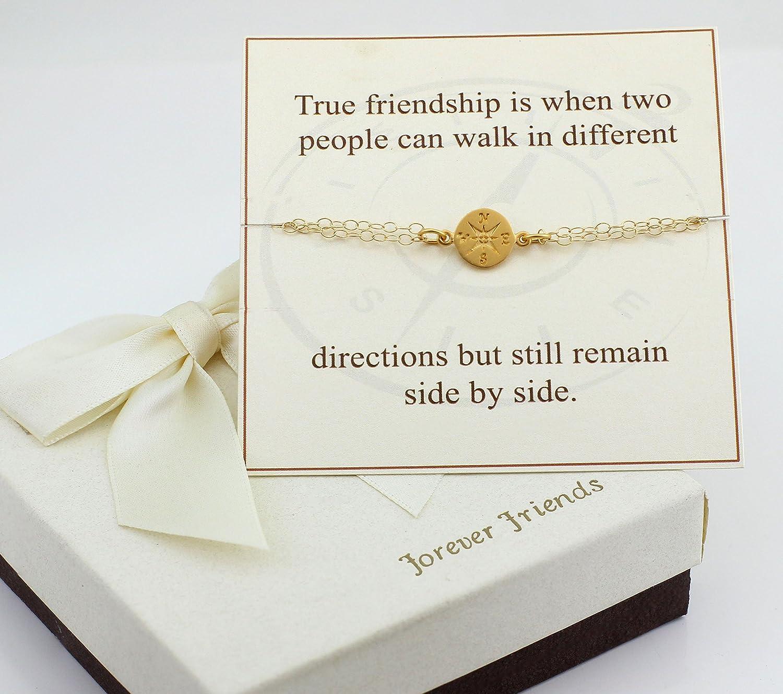Amazon.com: Gold filled compass bracelet.: Handmade