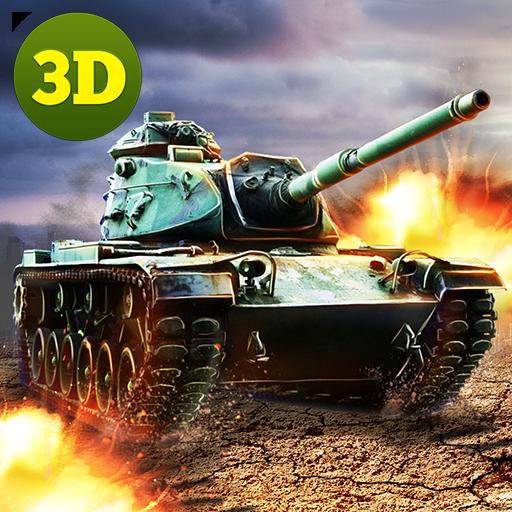 Armored Tank Battle Metal Force Kombat Squad: Modern War Games