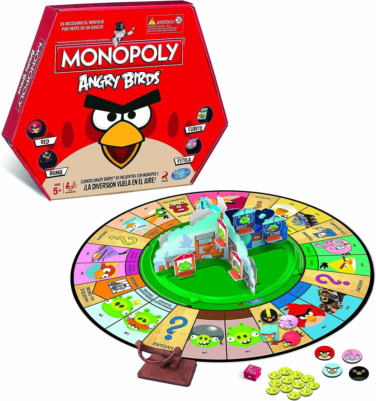 Monopoly - Angry Birds (Hasbro A9342105): Amazon.es: Juguetes y juegos