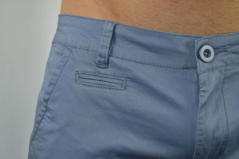 Pantaloncini di Cotone Soft Touch 1st American Bermuda da Uomo Modello Chino