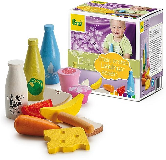 Erzi Sortiment Backzutaten Spielzeug Lebensmittel