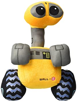 """WALL E - PELUCHE WALL-E 28cm / WALL-E PLUSH TOY 10"""""""