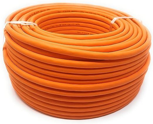 50.0M - Cat 7 Reel - Cable Ethernet, Cable libre de halógeno de 1000 MHz / Copper / Super Fast: Amazon.es: Electrónica