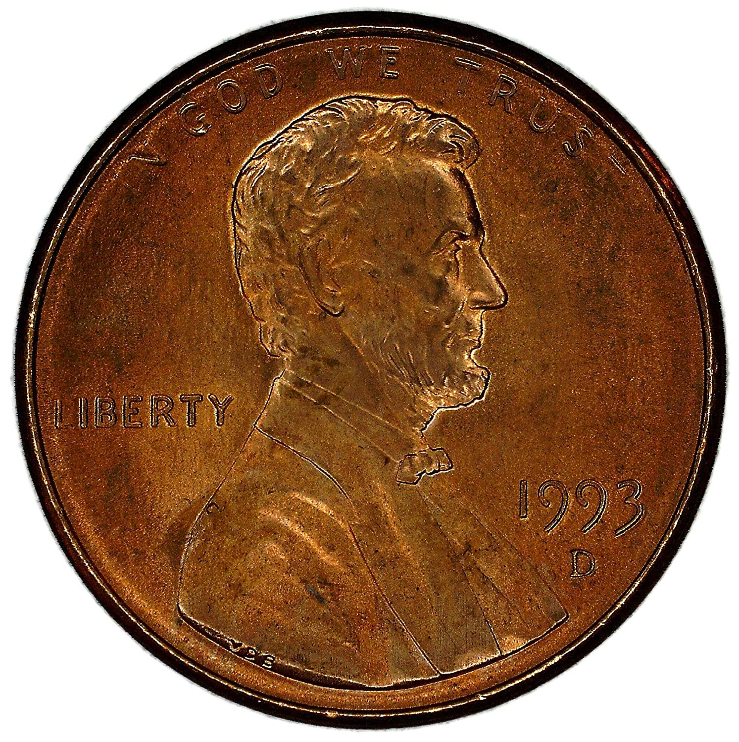 USA Small Cent 1993 D UNCIRCULATED