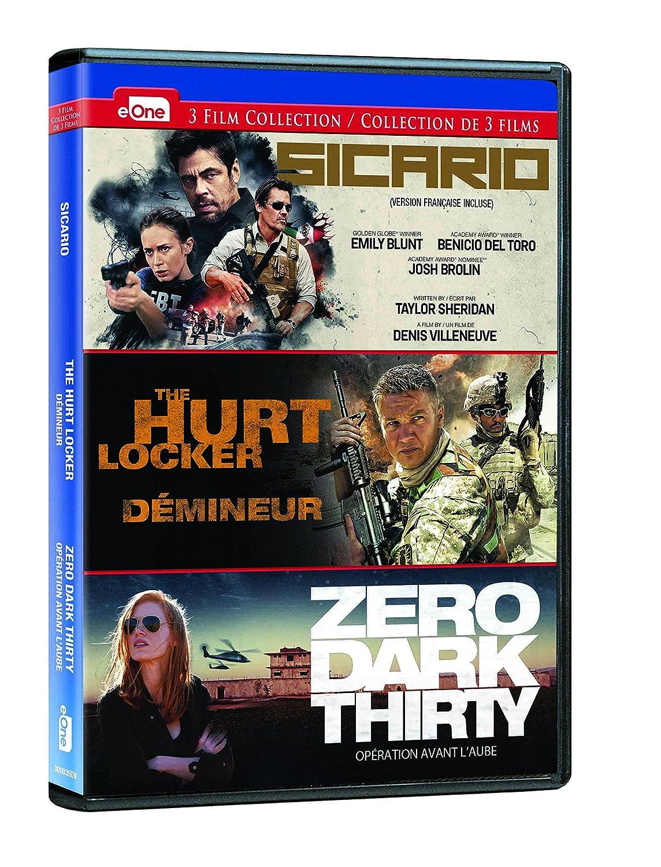 Amazon.com: Sicario / The Hurt Locker / Zero Dark Thirty ...