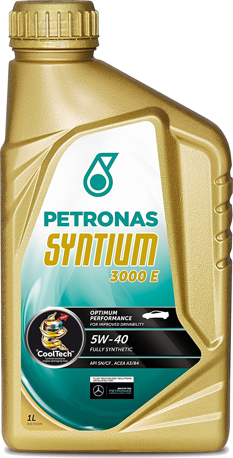 Syntium 1805 Lubricant and 3000 5L 5W40 1L Petronas
