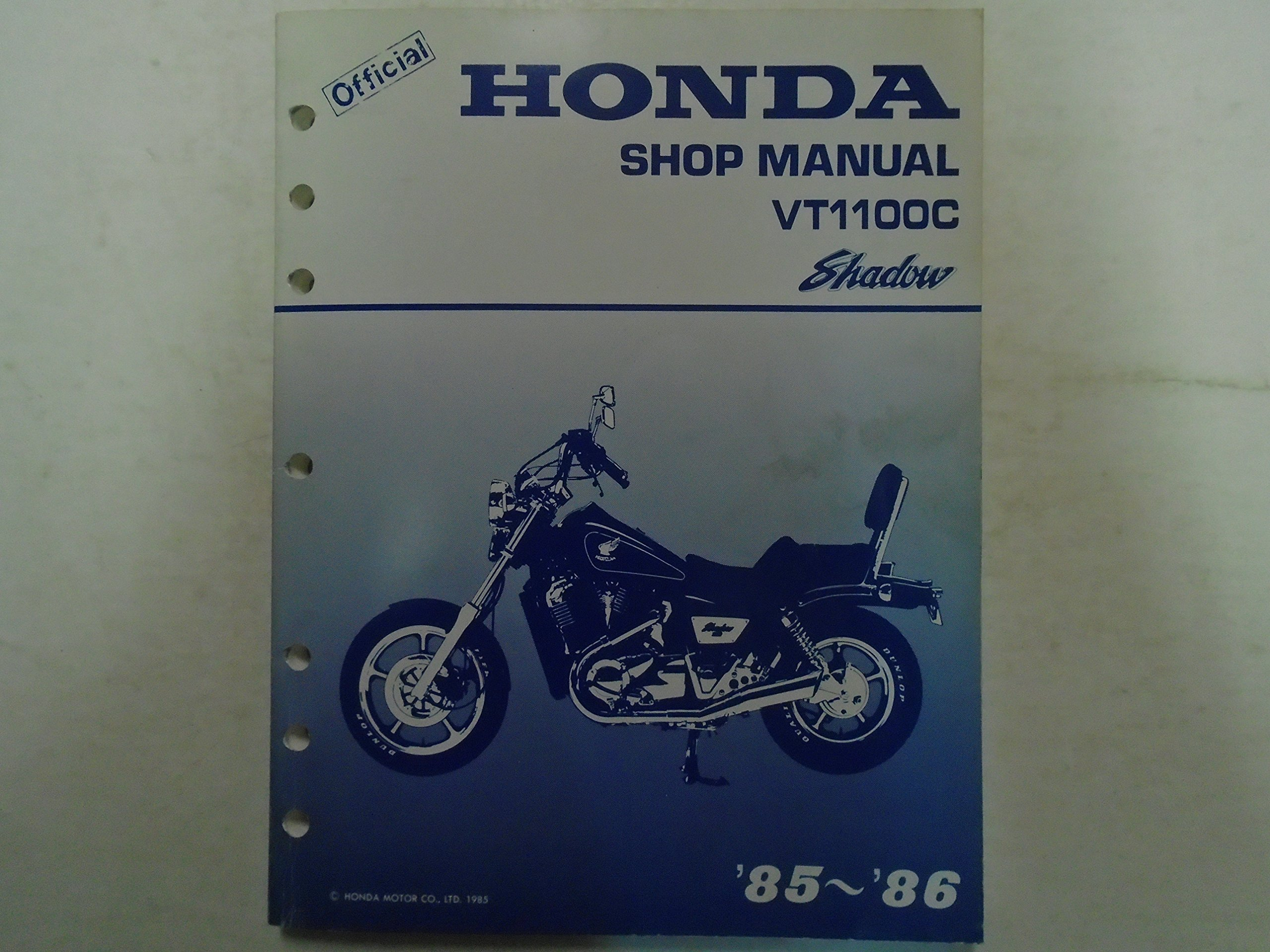 1985 1986 VT1100C HONDA VT 1100 C Shadow Service Shop Repair Manual Used  ***: HA INC: Amazon.com: Books