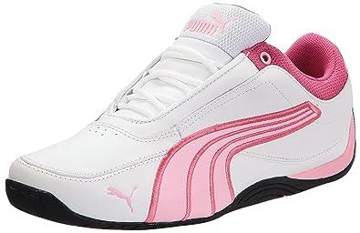 a7cbd4b285df Puma Unisex Babies  Drift Cat 4 L Jr low-top sneakers Off-White Size ...