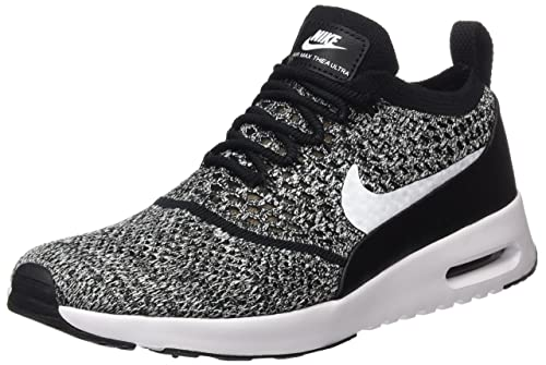 Nike Air Max Thea Ultra Flyknit Womens Shoe (12, Black/White)