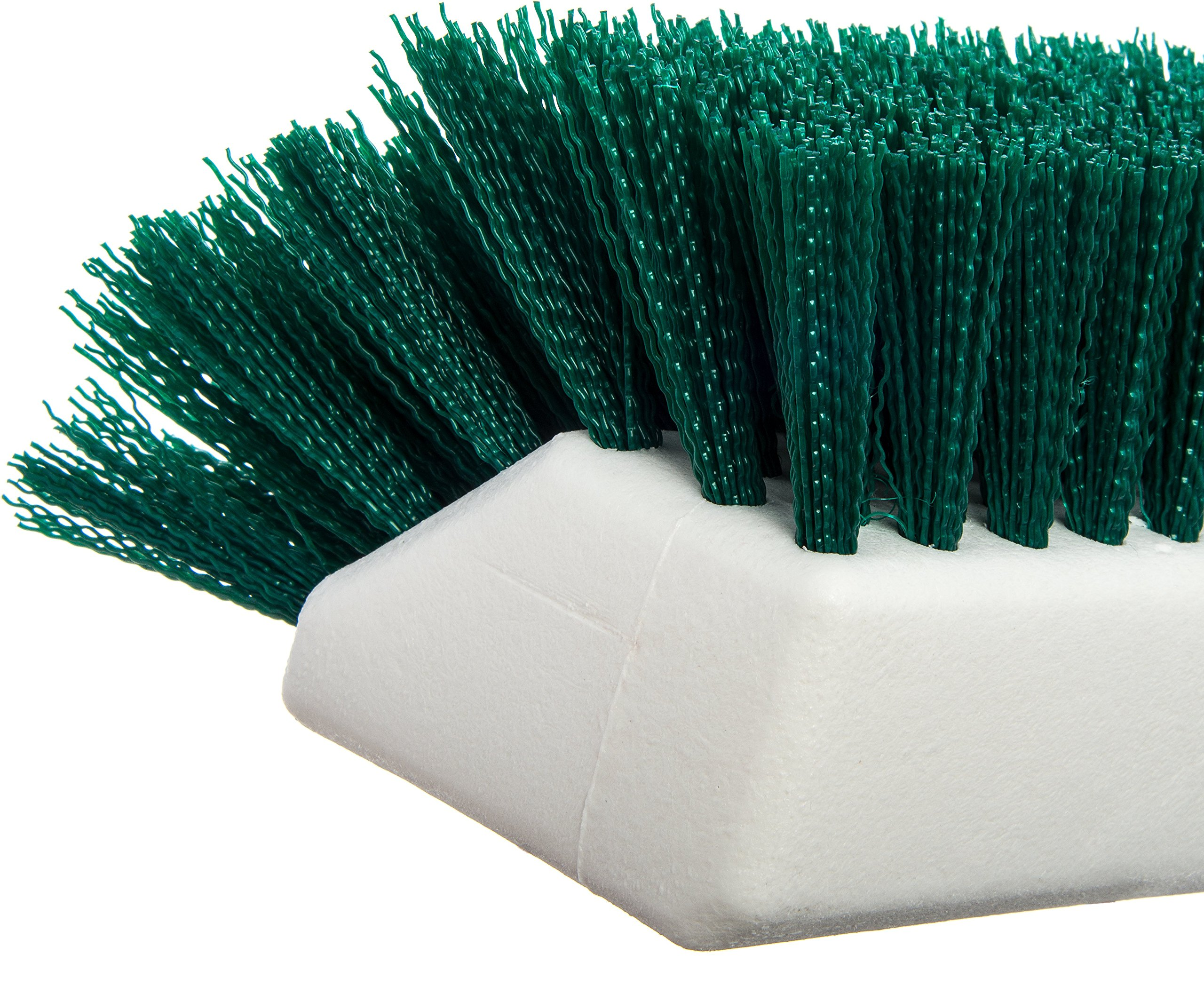 Carlisle 4042309 Hi-Lo Floor Scrub Brush, Green (Pack of 12) by Carlisle (Image #2)