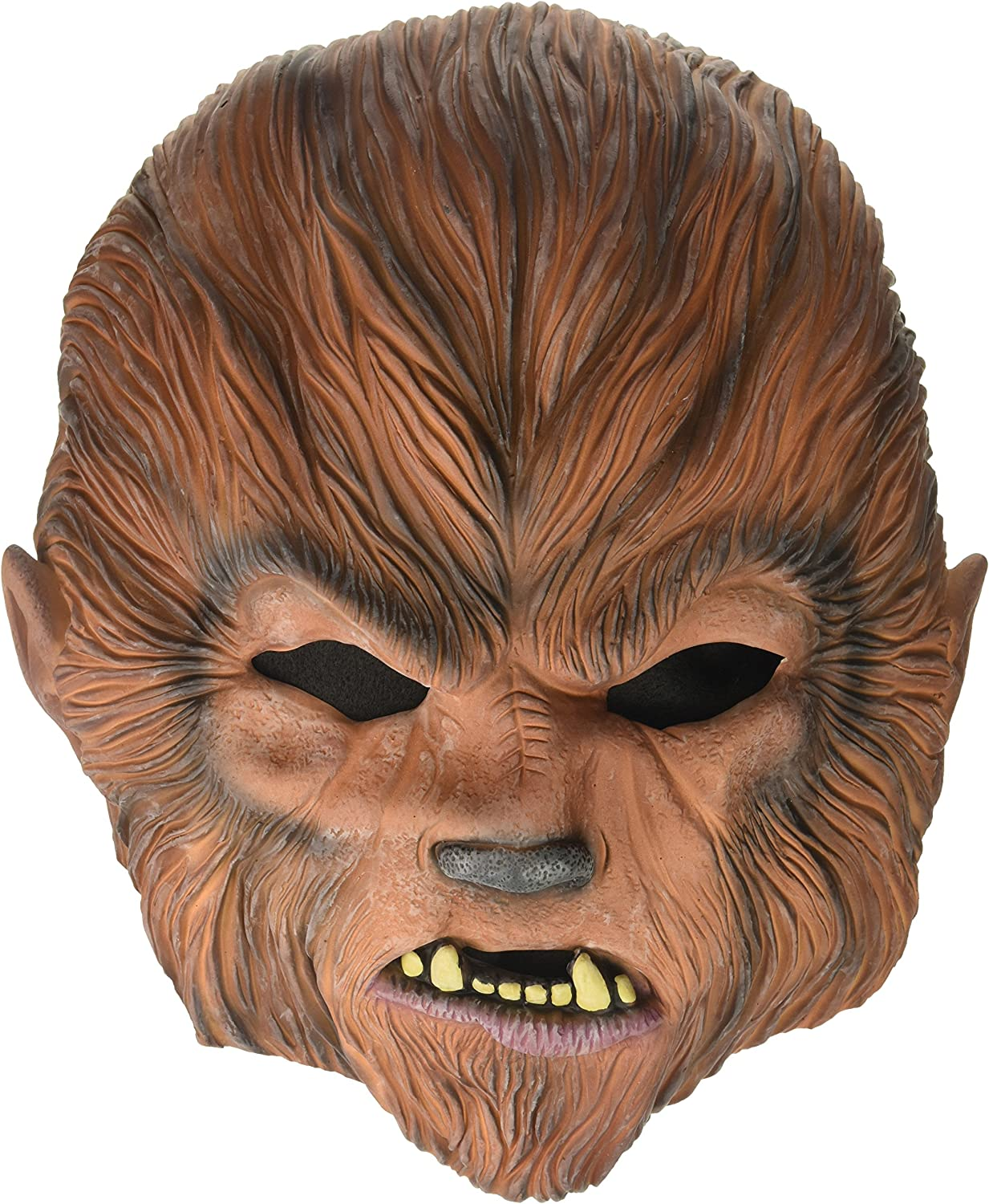 Amazon Com Rubie S Mens Universal Studios Monsters The Wolfman Mask Party Supplies Multicolor One Size Us Clothing