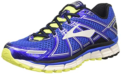 c255b60195 Brooks Men's Adrenaline GTS 17 Electric Brooks Blue/Black/Nightlife 7 ...