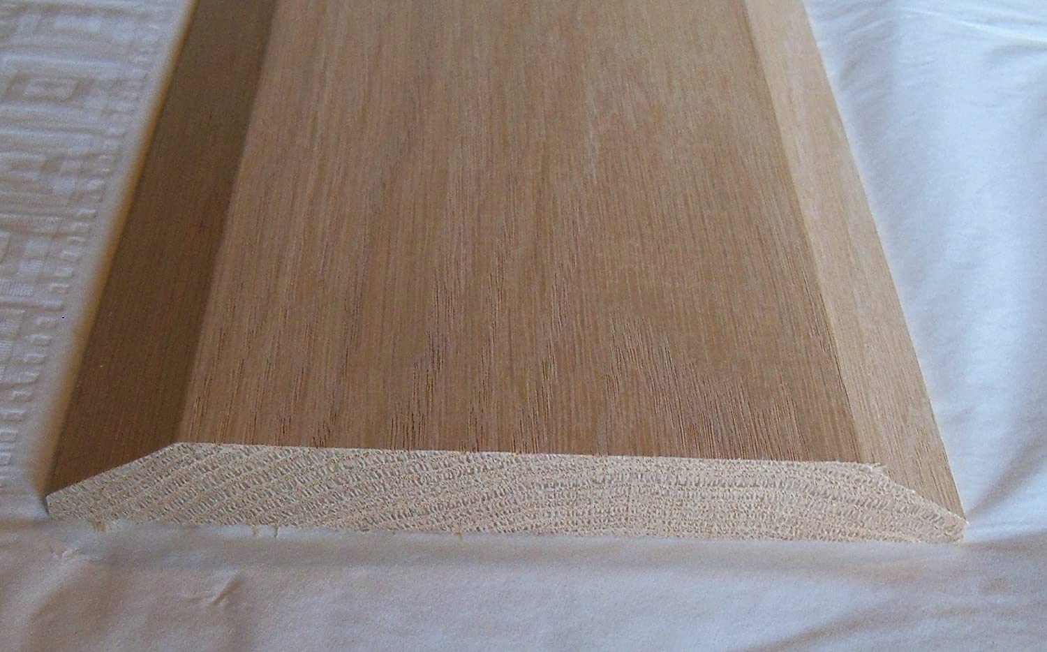 solid oak interior threshold style a 6 1 2 x 48