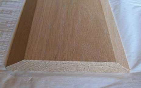 Solid Red Oak Interior Threshold - Style A (6 1/2\