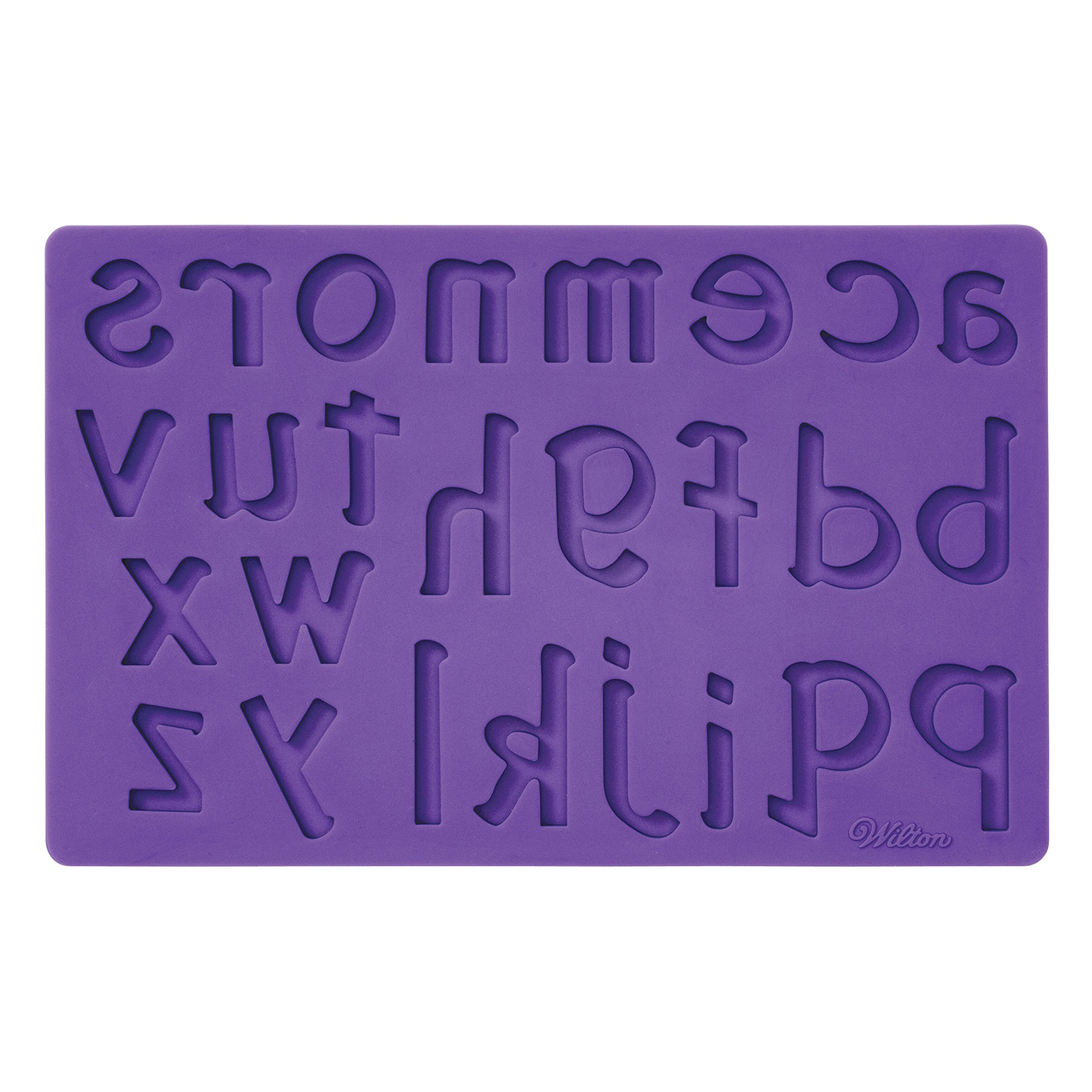 Wilton Silicone Letters and Numbers Fondant and Gum Paste Molds, 4-Piece - Cake Decorating Supplies by Wilton (Image #8)