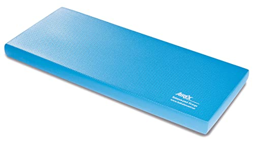 Airex Balance Pad Foam Board Stability Cushion Exercise Trainer for Balance, Stretching, Physical Therapy, Mobility, Rehabilitation and Core Strength Training 16 x 40 x 2.5, Blue