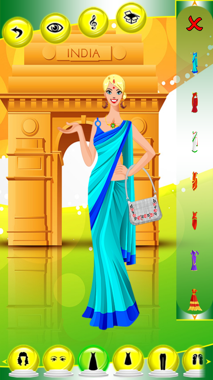 Amazon Com Hindi Girl Dress Up Games