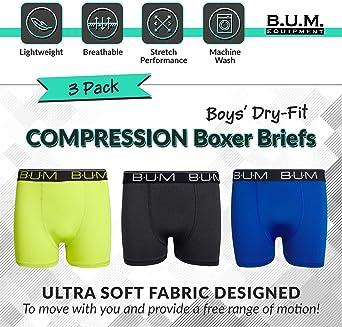 Amazon.com: B.U.M. Equipment Boys Performance Dry-Fit ...