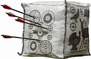 Shot Stoppa Target Cube Fill Yourself Crossbow Target