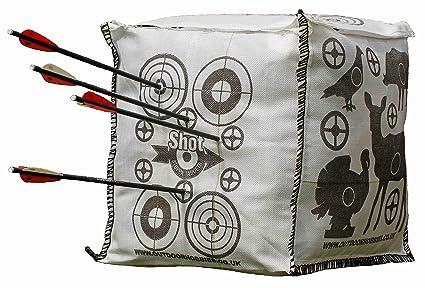 Amazon Com Shot Stoppa Archery Target Cube Fill Yourself Crossbow