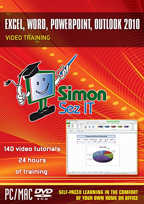 Amazon.com: Excel, Word, Powerpoint, Outlook 2010: Video Training