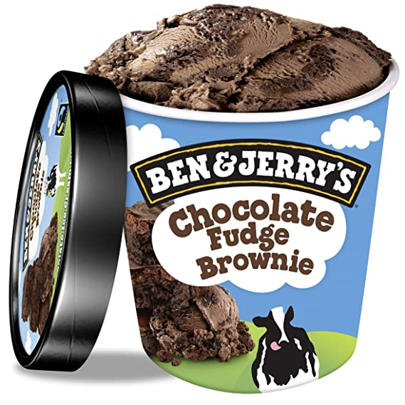 Ben & Jerrys Chocolate Fudge Brownie Helado ...