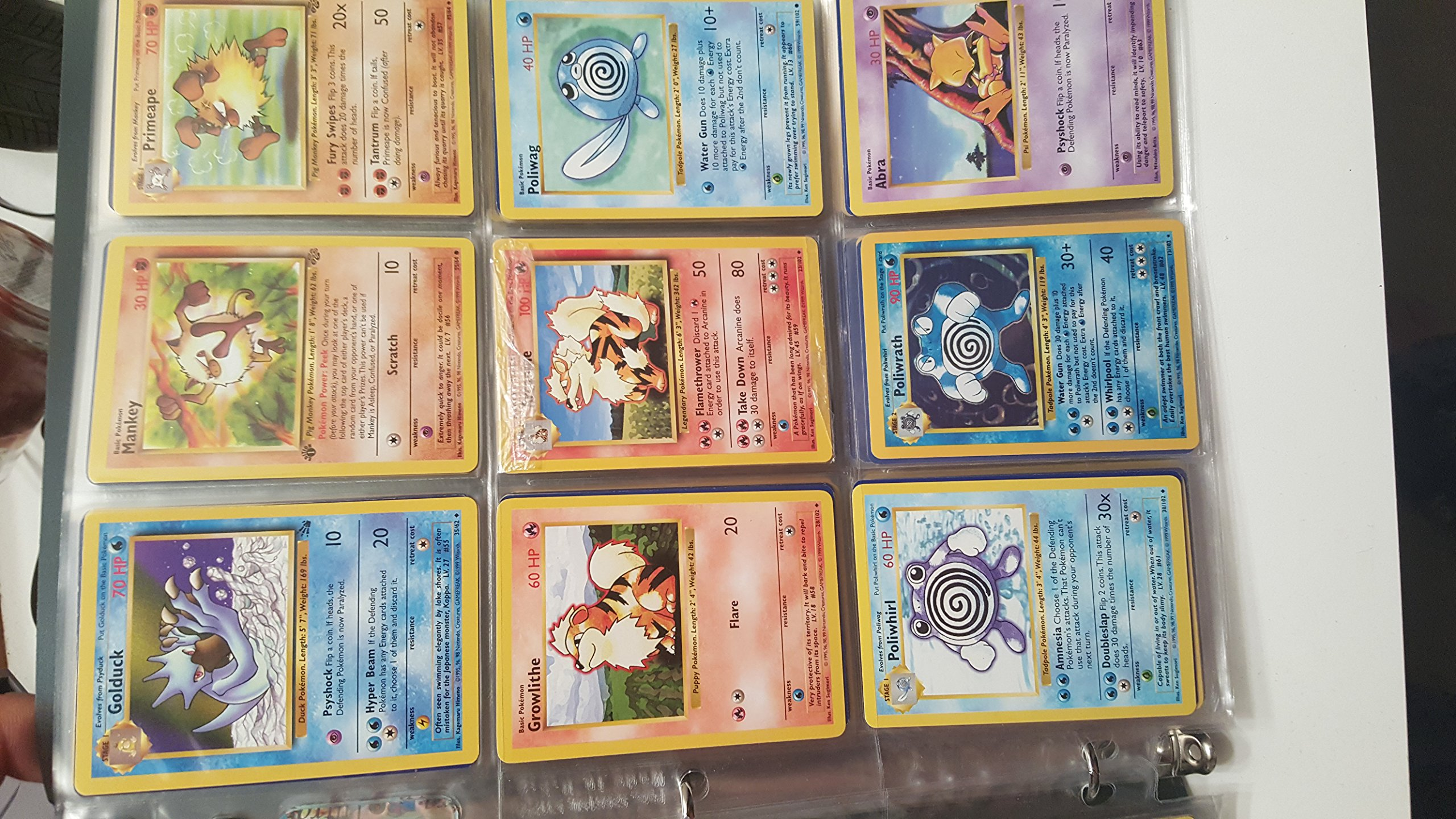 Pokemon COMPLETE Set of ORIGINAL 151/150 Cards (Contains Base, Jungle, Fossil Cards) by Pokemon (Image #7)