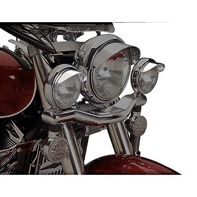"Show Chrome Accessories (1-229 4-1/2"" Spot Light Visor: Automotive"