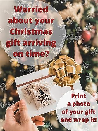 01# JOYKK Christmas Eve Box wooden Engraving Gift Xmas Childrens Gift Christmas Wreath Snowflake Home Decorations