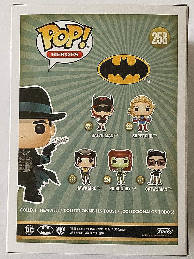 DC Bombshells Deluxe exclusiva caja de coleccionista Batman #258 Funko Pop Vinilo