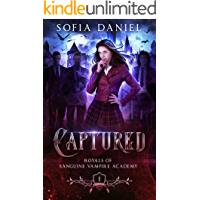 Captured: A Reverse Harem Paranormal Academy Bully Romance (Academy of Vampires Book 1) book cover