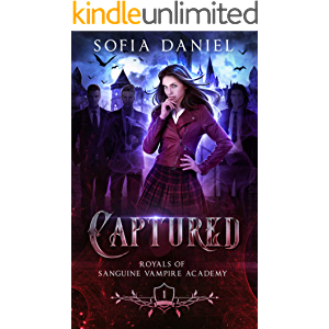 Captured: A Reverse Harem Paranormal Academy Bully Romance (Academy of Vampires Book 1)