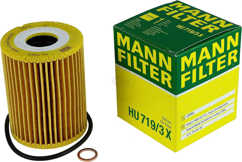 MANN-FILTER Inspektions Set Inspektionspaket Kraftstofffilter Luftfilter /Ölfilter