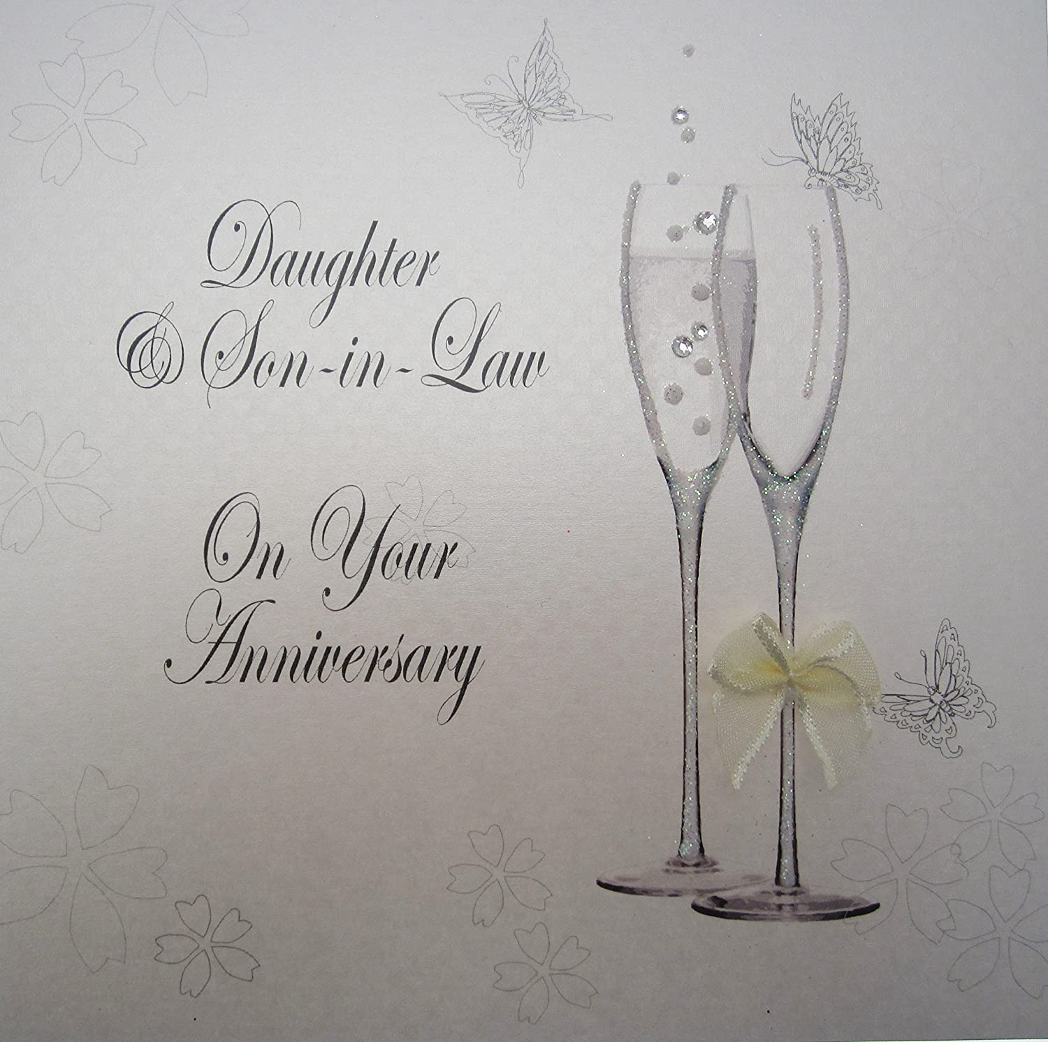 ICG7650 Anniversary Card Daughter and Son-In-Law