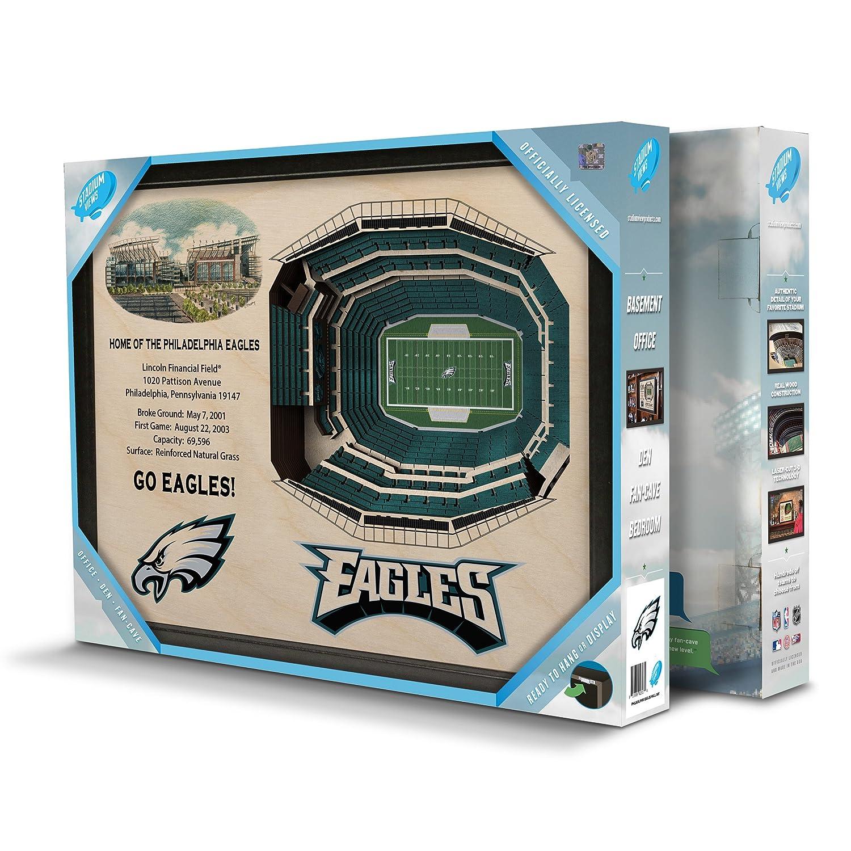 Amazon.com: Philadelphia Eagles Stadiumview Wall Art - Lincoln ...
