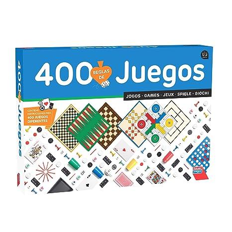 Falomir Juego Reunidos 400 Juegos 32 1317 Amazon Es Juguetes Y