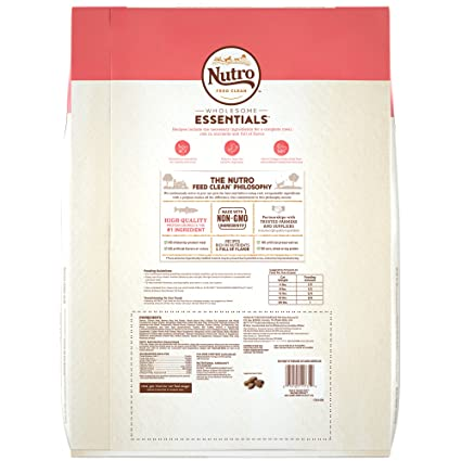 Amazon.com : Nutro Wholesome Essentials Adult Dry Cat Food Salmon & Brown Rice Recipe, 14 Lb. Bag : Pet Supplies