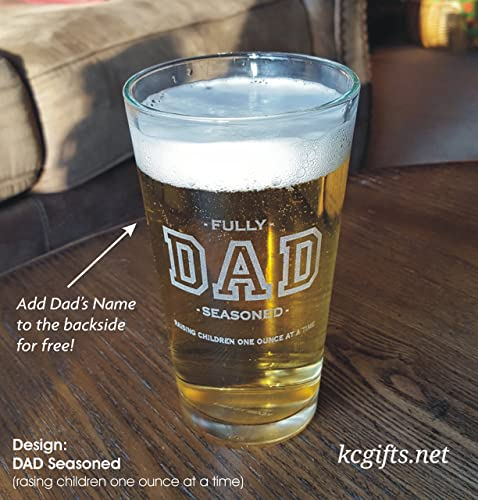 amazon com personalized beer glass gift for dad new dad 19th hole