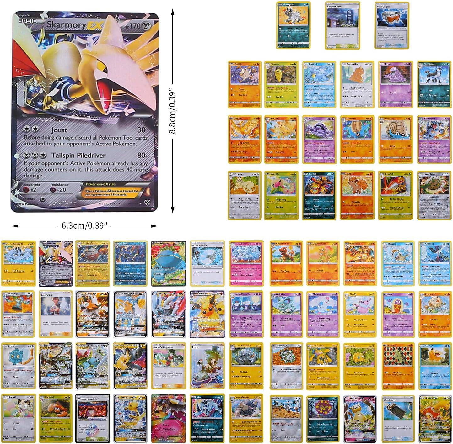 1 Pokemon Flash Carte Carta Collezionabile YNK 84 Pezzi Pokemon Carte Sun /& Moon Teamup GX Ex Gioco di Carte