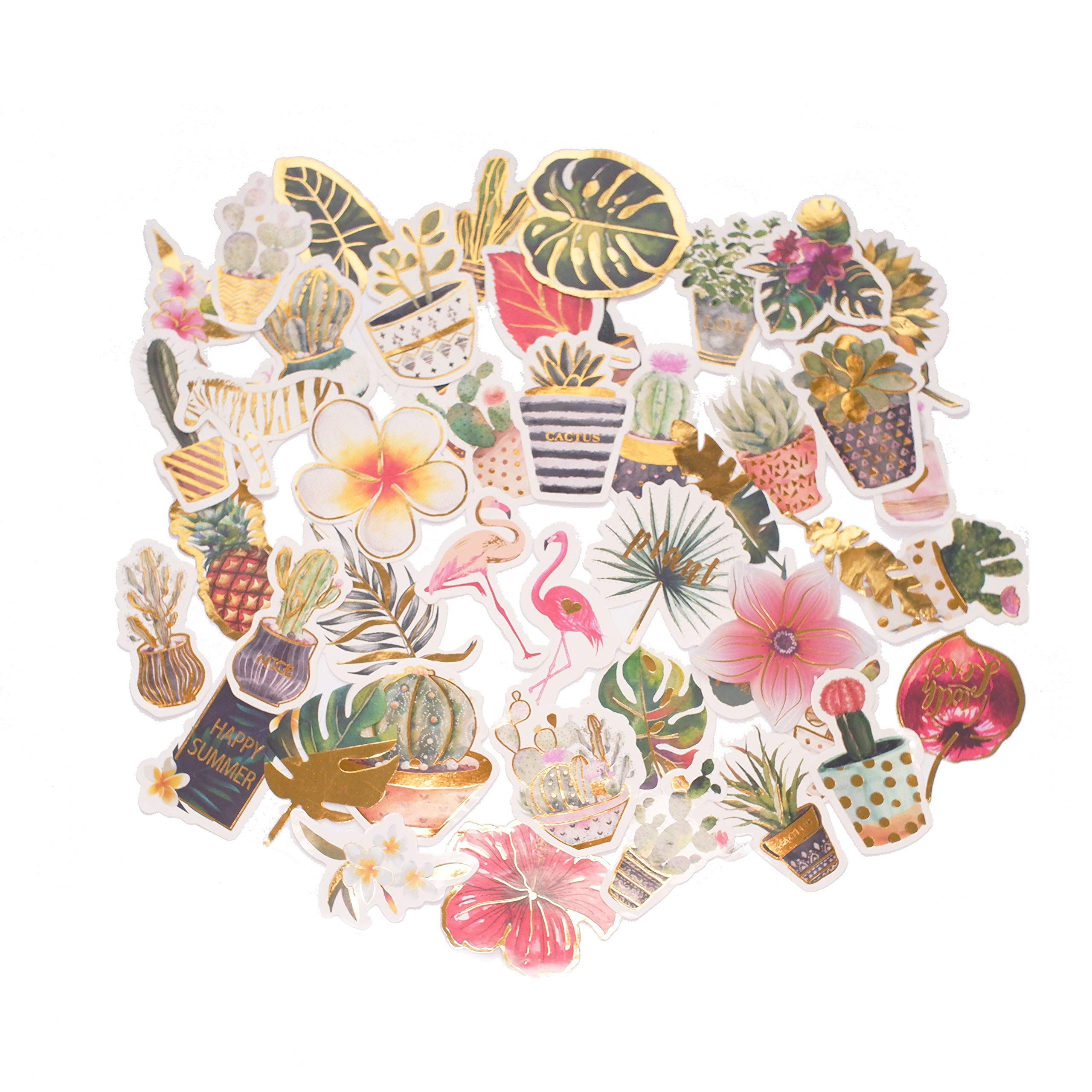 Vann92TM 46 Pieces//Pack Travelling Style Mini Decorative Stickers DIY Sealing