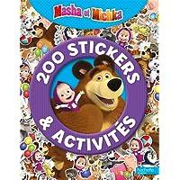 200 stickers & activités Masha et Michka