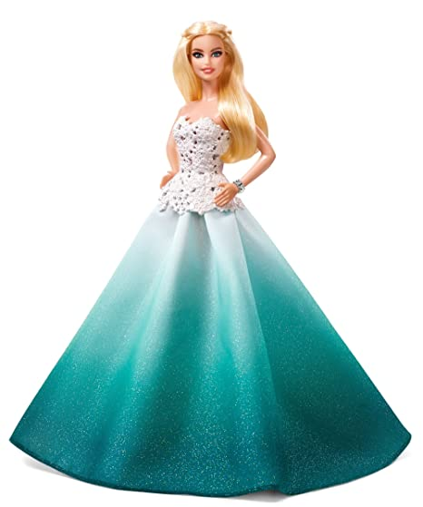 c97b0b99a Amazon.com: Barbie 2016 Holiday Doll: Toys & Games
